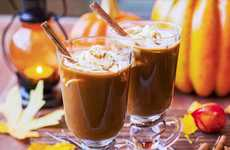 DIY Caffeinated Pumpkin Cocktails - 'Poor Man's Kitchen' Infused a Classic Autumn Drink with Liquor