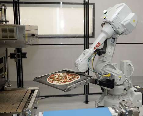 Robot-Run Pizzerias