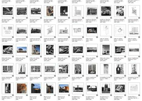 Vast Architectural Image Galleries - Columbia GSAPP Has Opened Its 20,000 Images to Students