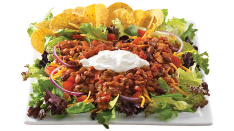 Fast Food Taco Salads - Wendy's New Taco Salad Brings a Taste of Mexican Cuisine to the Chain's Menu