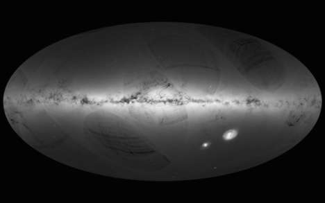 Expansive 3D Space Maps - The ESA's 3D Map Contains Over a Billion Stars Shot by the Gaia Satellite