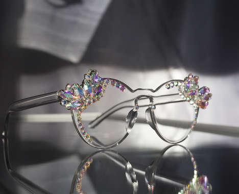 Ornate Jewel-Encrusted Eyewear