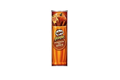 Stackable Pumpkin Chips - The Pumpkin Spice Pringles Offer a Salty and Sweet Festive Flavor