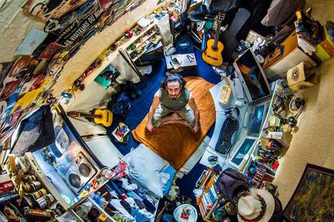 Aerial Bedroom Photography - The 'My Room Project' Highlights Cultural Spaces From Across the World