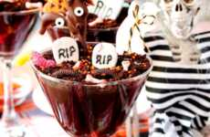 These Chocolate Desserts Recreate a Cemetery Using Edible Sweet Treats