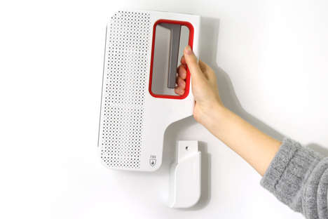 Streamlined Fire Safety Devices - The 'Firo' Fire Extinguisher Makes it Simpler to Put Out a Fire