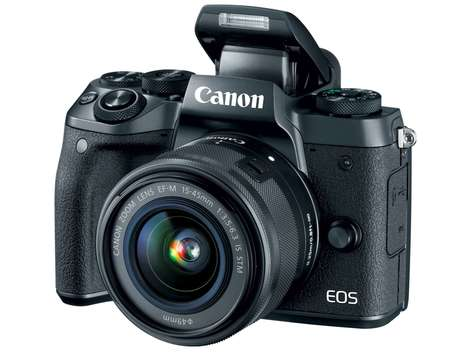 Mirrorless Connected Cameras - The Canon EOS M5 Photography Camera Provides Exceptional Capabilities