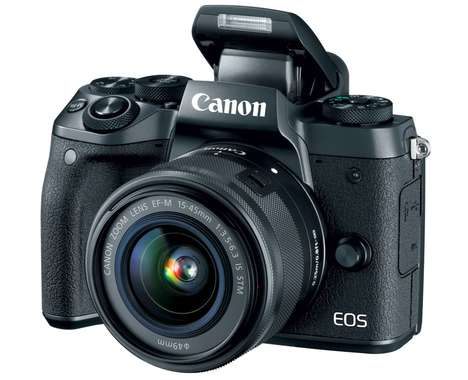 Mirrorless Connected Cameras