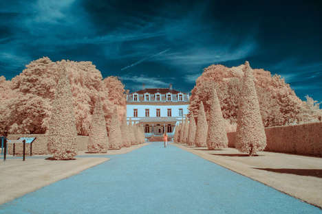 Artfully Infrared Landscapes - These Surreal Images from GMUNK Play with a Viewer's Expectations