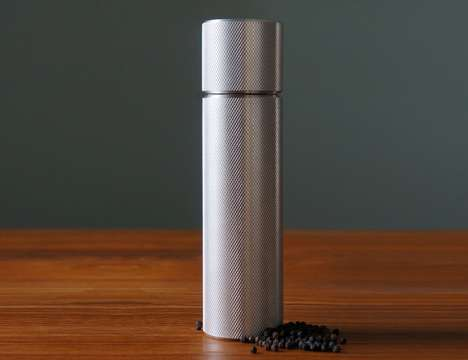 Luxury Aluminum Spice Grinders - The Harley Spice and Pepper Mill Grinder is Crafted to Perfection