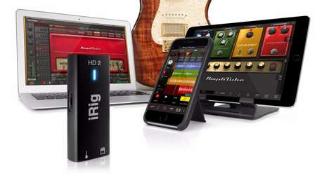 Intelligent Instrument Interfaces - The iRig HD2 Offers Versatile & Reliable Recording Options