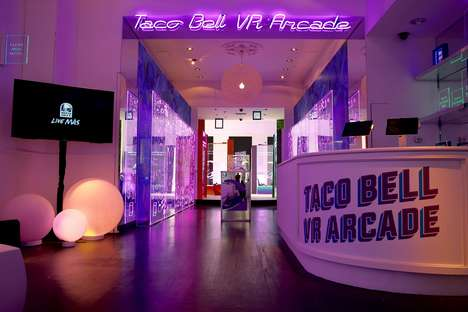 VR Taco Promotions - Taco Bell is Setting Up an Immersive VR Arcade to Kick Off Its Latest Promotion