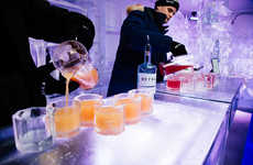 Sub-Zero Nightclubs - Toronto's CHILL Ice House Provides a Cool Way to Spend an Evening on the Town
