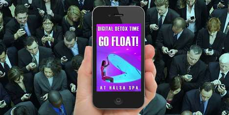 Digital Detox Spa Packages - Halsa's #DigitalDetox Targets Screen-Obsessed Millennials