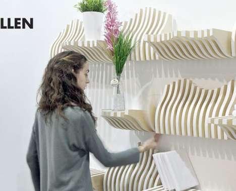 Modular Customization Bookshelves