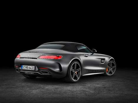 Comprehensive Coupe Roadsters - The Mercedes-AMG GT Roadster Offers Superior Speed and Handling