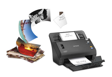Speedy Photo Scanners - This New Epson Scanner Can Scan One Photo Per Second