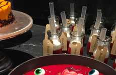 Gruesome Hotel Buffets - The Hilton Tokyo is Serving Scary Food for Halloween
