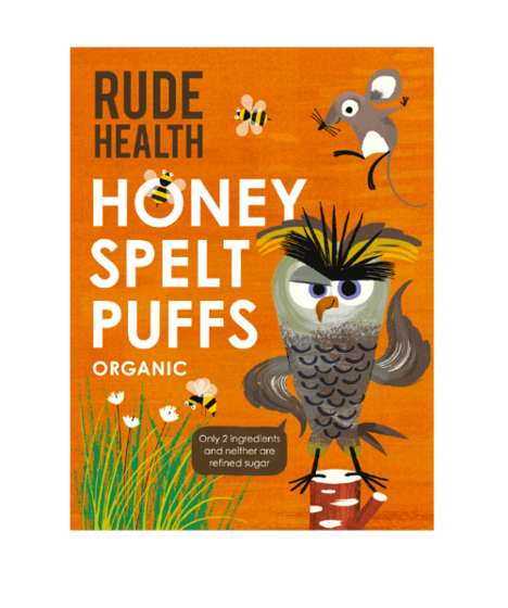 Kid-Friendly Spelt Cereals - Rude Health's Cereal for Children is Made with Ancient Grains