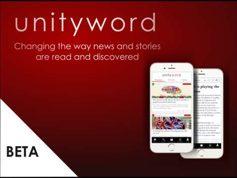 Comprehensive News Apps - The UnityWord App Features Very Powerful Filters and Personalization Tools
