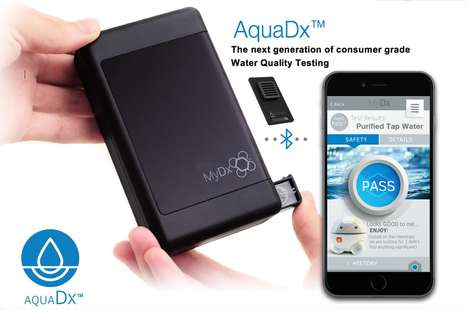 Water-Analyzing Chips - This Portable Analyzer Chip Can Test the Chemical Contents of Water