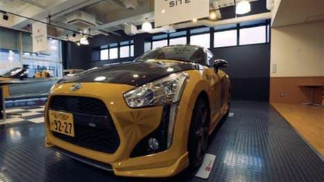 3D-Printed Automotive Skins - 'Effect Skins' Offer a Way to Customize the Classic Daihatsu Copen
