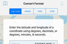 Coordinate-Converting Aviation Apps
