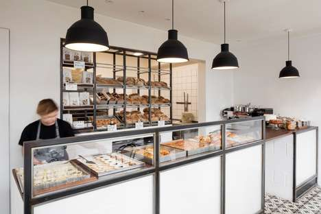 Post Office Bakeries - The Margot Craft Bakery in London is in a Converted Post Office Location