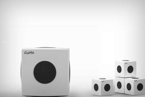 Digital Manufacturing Devices - 'Cupix' are Like Real-World Pixels that Can Form Groups and More