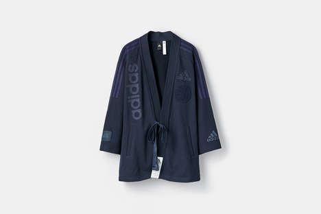 Jujitsu-Inspired Apparel - UNITED ARROWS & SONS Adapted adidas Apparel with a Martial Arts Twist