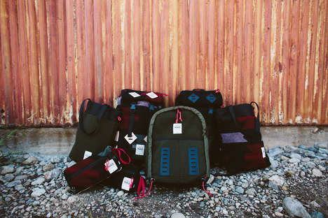 Americana Backpack Concepts - Woolrich and Topo Designs Joined to Design a Line of Wool Carriers