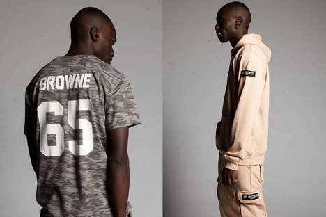 Minimalist Parisian Streetwear - LES (ART)ISTS' French Street Styles Feature Bold Branding