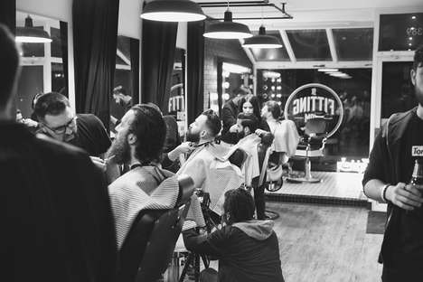 Contemporary Men's Barbershops - The Fitting Room Combines Culture and Style with Expert Haircuts