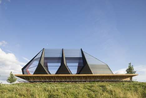 Futuristic Naval Pavilions - 'KAPKAR.SF-P7S' is a Temporary Space for Stichting Fabrikaat Architects