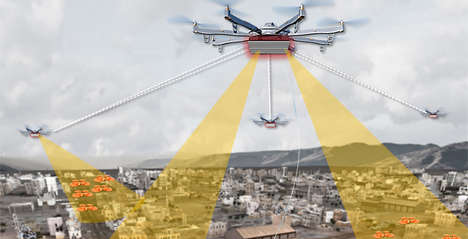 Drone-Detecting Sytems - DARPA is Accepting Proposals for Its 'Aerial Dragnet' Program