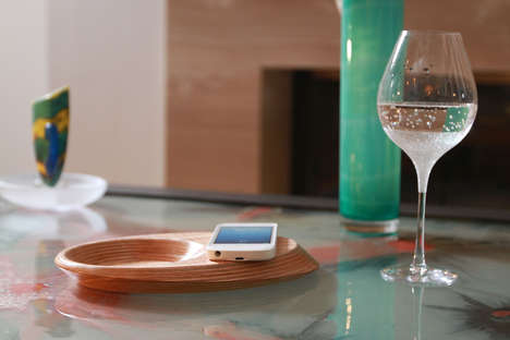Wooden Wireless Charging Devices - These Devices Work as Functional Decor Pieces in the Home