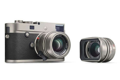 Luxury Titanium Cameras - Leica's M-P Titanium Camera is a Limited-Edition Release