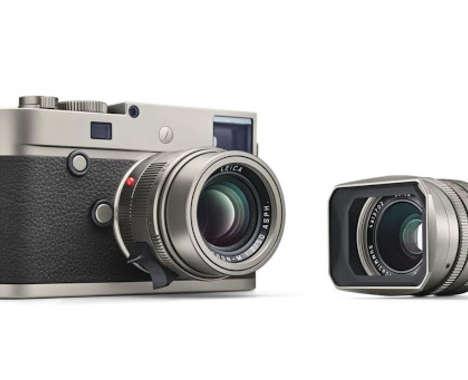 Luxury Titanium Cameras