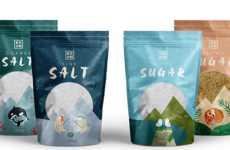 Storytelling Seasoning Packaging - The 'BooM' Salt and Sugar Packaging Creates a Narrative