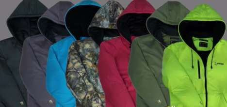 Cold-Weather Hoodies - The Hybrid Hoodie Ensures the Comfort and Warmth of Its Wearers