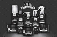 Male-Targeted Barber Cosmetics