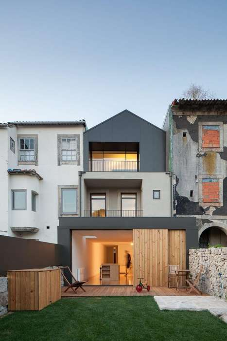Wood-Clad Stacked Residences - 'Boavista House' is a Three Storey Home That Embraces Simplicity