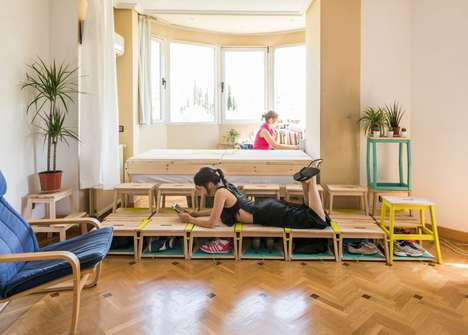 Modular Childhood Room Furniture - 'Home Back Home' Makes Childhood Rooms Suitable for Adults