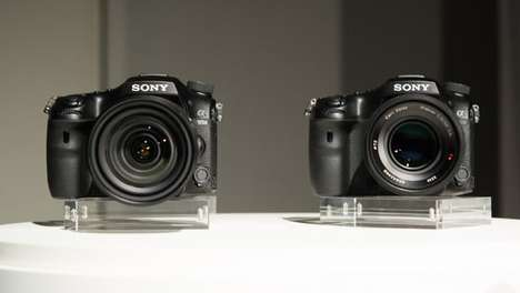 Image-Stabilizing Cameras - Sony's New Interchangeable Lens Camera Compensates For Shaky Movements