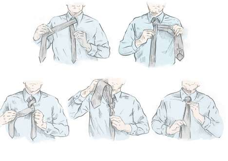 Illustrated Shirt Guides - GANT Created a Shirt Guide to Place Itself as the Ultimate Shirtmaker