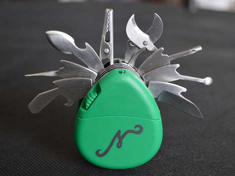 Multi-Functional Smoking Tools - Nuggy Smoker's Multi-Tool is 10 Smoking Tools in One Gadget