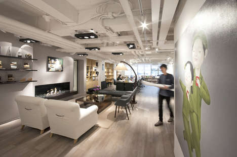 Comfort-Inducing Office Spaces - This Office Was Designed by Bean Buro for a Communications Firm
