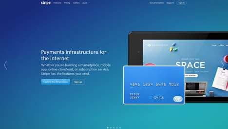 Instant Salary Payment Apps - Stripe Lets Sharing Economy Workers Deposit Their Wages Immediately