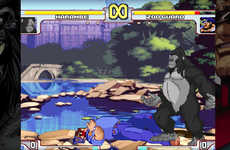 Gorilla Meme Video Games - 'Harambe vs. Capcom' is a Fighter Game Featuring the Late Primate