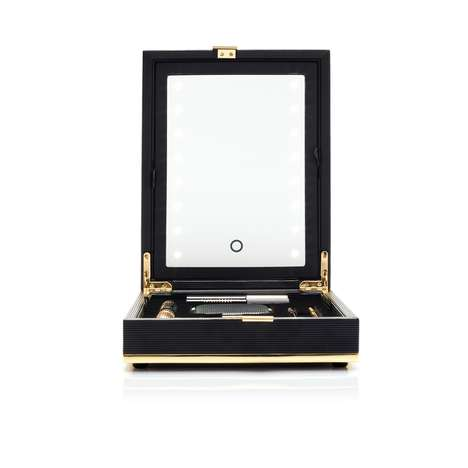 Luxury Makeup Cases - This Makeup Box Holds Victoria Beckham's Estee Lauder Cosmetics